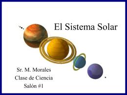 Solar System - Ciencias de la Tierra