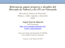 PowerPoint version - Angel Garcia Banchs