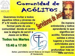 afiche ACLE ACOLITOS 2010