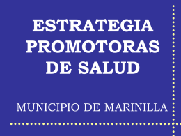06. Estrategia Promotoras de Salud