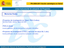 II SEMINARIO INTERNO- ESTRATEGIA EN I+D+i