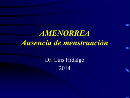 Amenorrea - WordPress.com