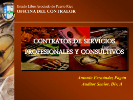 07 CONTRATOS - Oficina del Contralor General de Puerto Rico