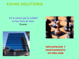 kavan solutions - solucionesONG.org