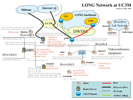 LONG Network at UC3M