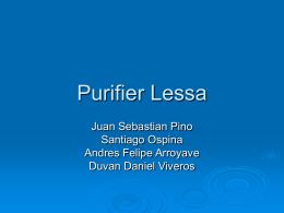 Purifier Lessa