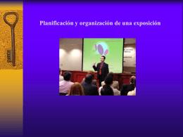 Diapositivas sobre la exposición