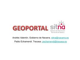 Geoportal. Integrando la información territorial