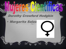 Dorothy Crowford Hodgkin Margarita Salas Mujeres Científicas