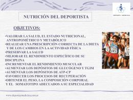 NutrDep - deporte y medicina