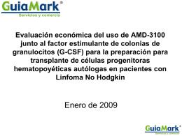 G-CSF - GuiaMark