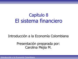 Tema 8 - Sistema financiero CMM