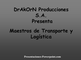 DrAkOrN Producciones S.A. - Presentaciones Power Point