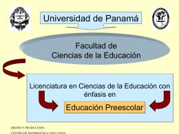 presentación del énfasis en preescolar