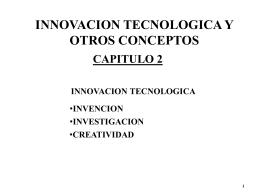 Innovación Tecnológica 2