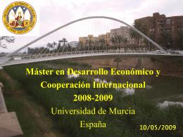 Optimización del Uso y Consumo del Agua en la Cuenca del Segura