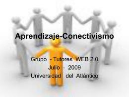 Aprendizaje-Conectivismo