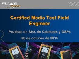 Certificador fluke
