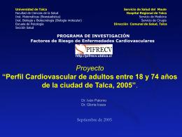 Ver Presentación - PIFRECV