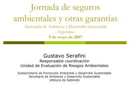 Daño ambiental - Secretaría de Ambiente y Desarrollo Sustentable