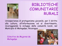 Biblioteche Comunitarie