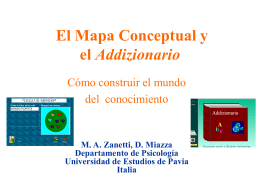 Le mappe concettuali - Universidad Autónoma Metropolitana