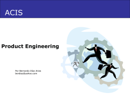 Product Engineering 1.1