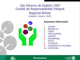 Aportantes - Responsabilidad Integral Colombia
