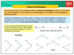 6 Enlace de hidrógeno