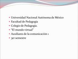File - La Pedagogía y la comunicación.