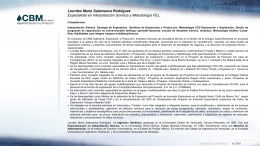 CV Lourdes Salamanca 01302012