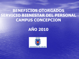 informe de beneficios 2010