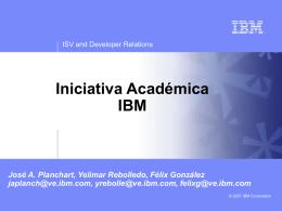 Iniciativa Académica IBM