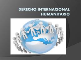 el derecho internacional humanitario (749056)