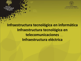 Resumen Infraestructura