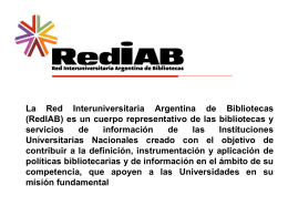 Click here to get the file - Universidad Nacional de La Plata