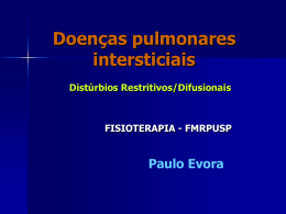 Doenca intersticial pulmonar 2
