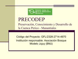 Nombre Del Proyecto - Secretaría de Ambiente y Desarrollo