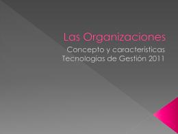 Las Organizaciones - Tecnologias-de-gestion