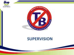 supervision - Ministerio de Salud Pública