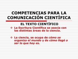 2.EL Texto Científico - CompetenciasComunicacionCientif