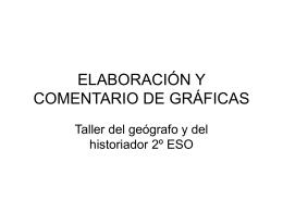 ELABORACIÓN Y COMENTARIO DE GRÁFICAS