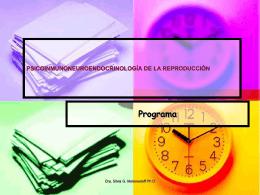 PSICOINMUNONEUROENDOCRINOLOGÍA DE LA REPRODUCCIÓN