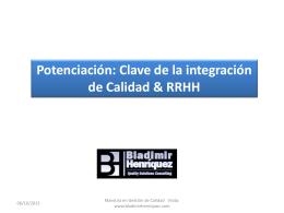 Potenciacion y gestion de rh