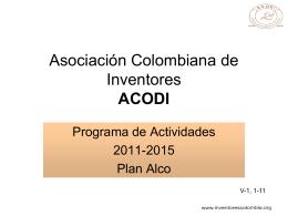 Asociación Colombiana de Inventores ACODI