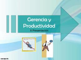 gerencia y productividad 2