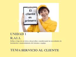 SERVICIO AL CLIENTE1