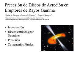 Diapositiva 1 - Instituto Argentino de Radioastronomía