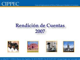 2007 - Cippec