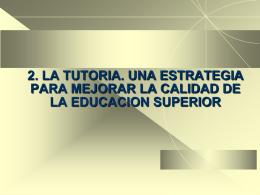 TUTORÍA 5 - 2° diplomado en docencia universitaria